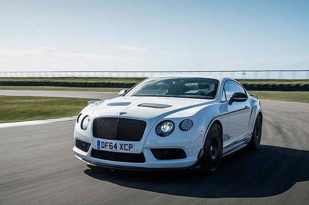 Роскошный суперкар Bentley Continental GT3-R