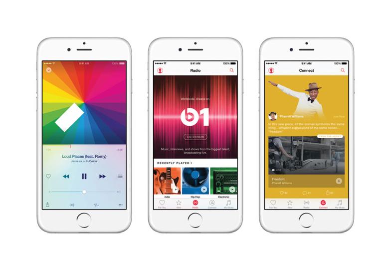 Вышла новая версия iOS с Apple Music