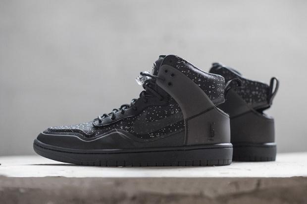 Детальные снимки кроссовок NikeLab x Pigalle Dunk Lux