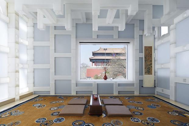 Китайский домик для чаепитий от Kengo Kuma Associates
