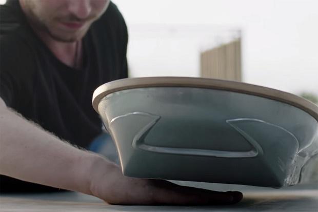 Очередное эффектное видео с ховербордом Lexus