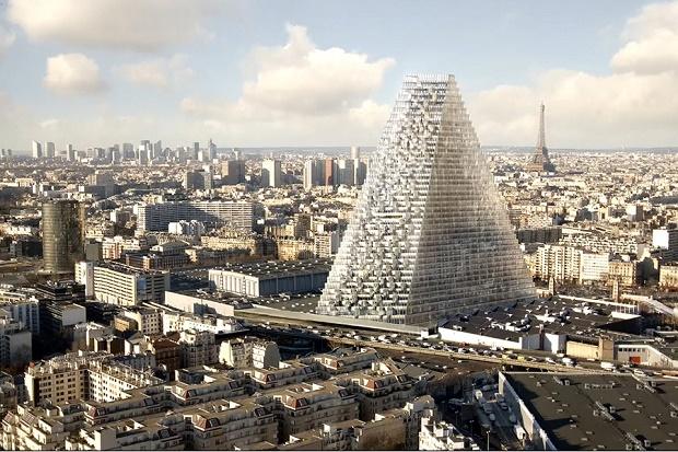 Первый небоскрёб в Париже со времён 1970-х