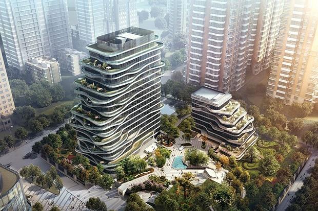 Резиденция Smart-Hero Central Park Plaza в Пекине, Китай