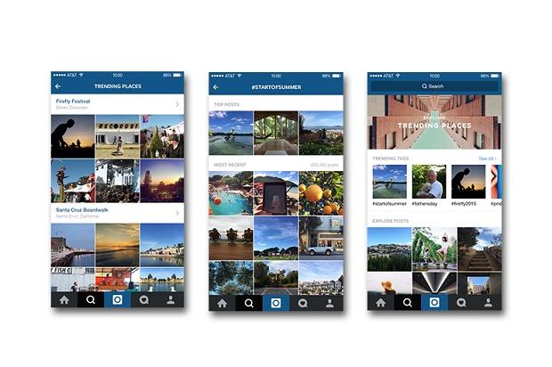 В Instagram улучшили вкладку Explore