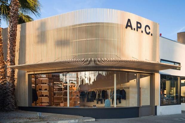 Взгляд во внутрь. Новая локация A.P.C. в Сильвер-Лейк