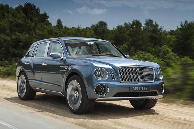 Bentley Bentayga выпустили на бездорожье