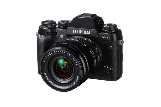 Fujifilm продемонстрировала свою новую камеру X-T1 IR