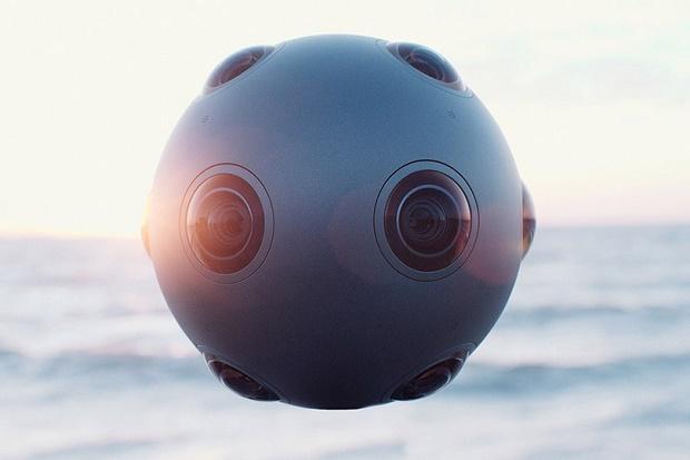 Камера виртуальной реальности OZO от Nokia