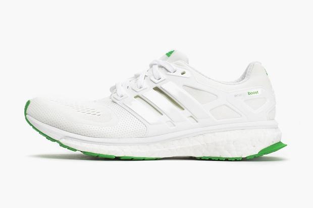 Кроссовки adidas Energy Boosts White/Signal Green
