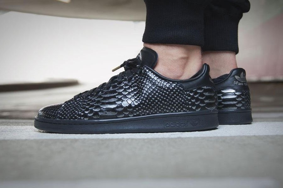 Кроссовки adidas Originals Stan Smith Black Reptile