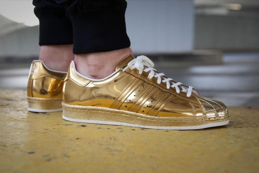 Кроссовки adidas Originals Superstar 80s Metallic Gold