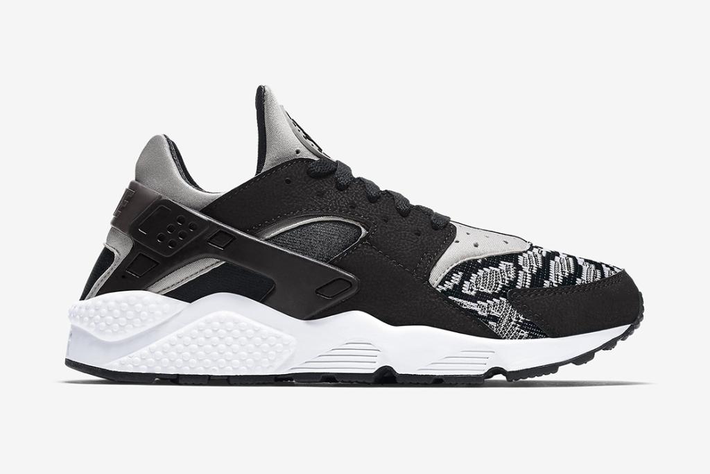 Кроссовки Nike Air Huarache Run PA Black/White
