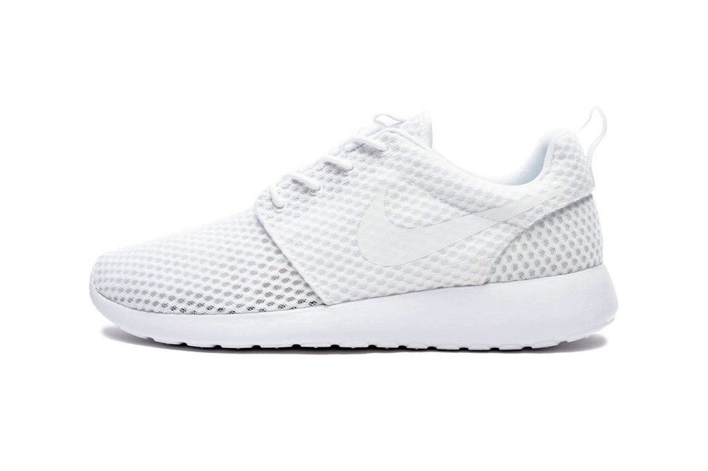 Кроссовки Nike Roshe One BR White/Wolf Grey
