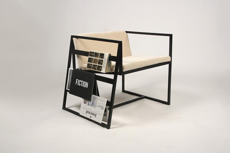 Лукас Авена представил дизайнерский стул с функциональной составляющей
