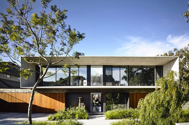 Мельнбурнский архитектор Мэтт Гибсон поиграл с бетоном