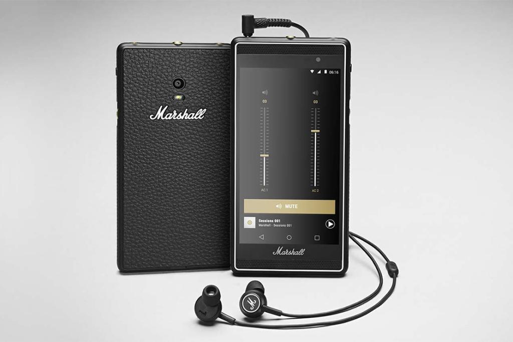 Музыкальный телефон на базе Android от Marshall