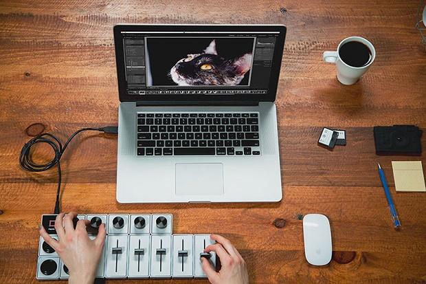Настольный контроллер Palette для дизайнеров и креативщиков