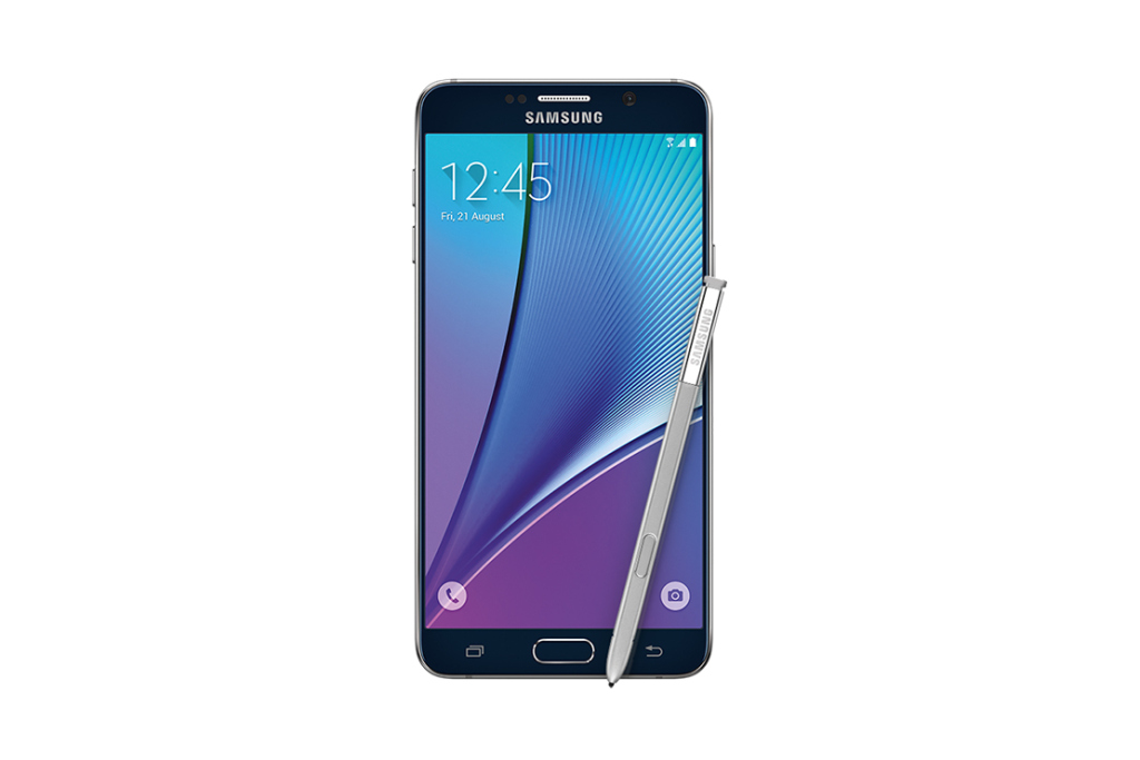 Samsung Galaxy Note 5 официально анонсирован