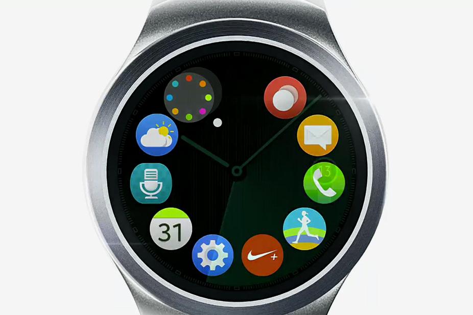 Взгляните на круглые смарт-часы Samsung Galaxy Gear S2