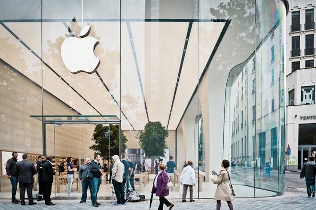 Новый Apple Store в Брюсселе