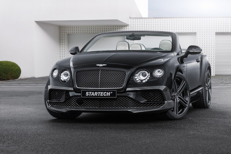 Bentley Continental Carbon и Flying Spur от ателье STARTECH