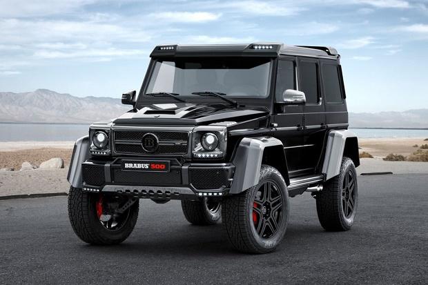Brabus представил 500-сильный Mercedes-Benz G500 4x4²