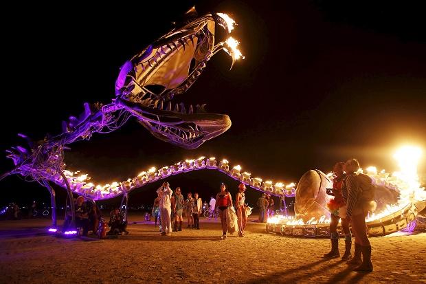 Burning Man 2015: Марс на Земле