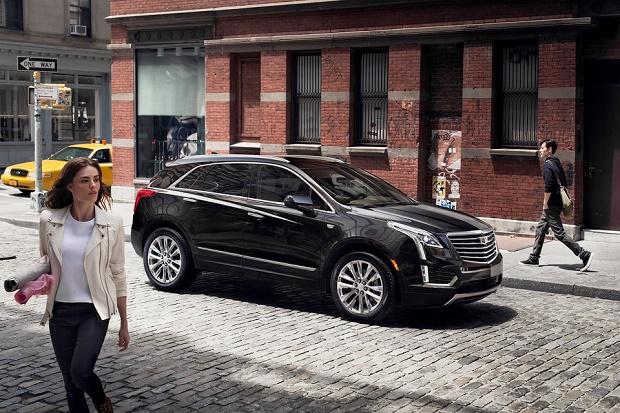 Cadillac рассекретил новый кроссовер 2017 XT5