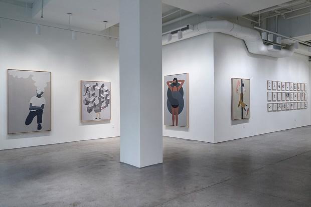 Выставка Джеффа Макфетриджа It Looks Like It Says в Joshua Liner Gallery