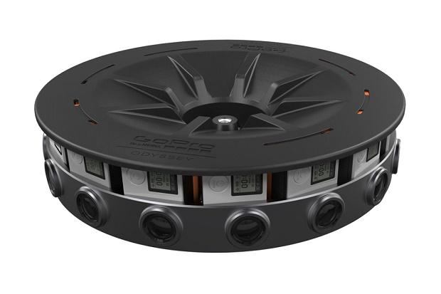 GoPro представила панорамную стереокамеру Odyssey