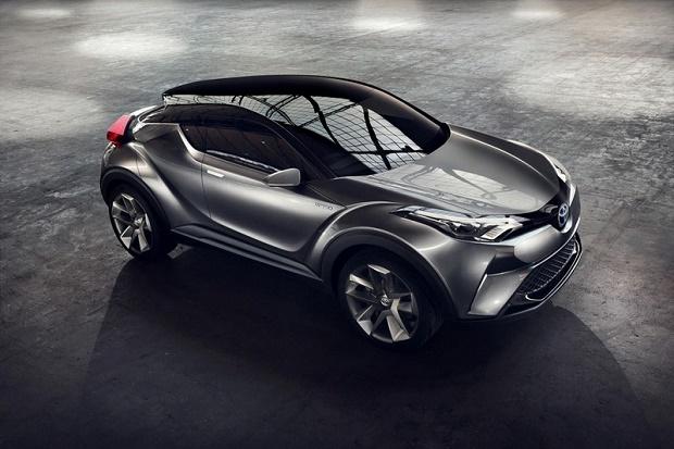 Премьерный показ рестайлингового концепта Toyota C-HR