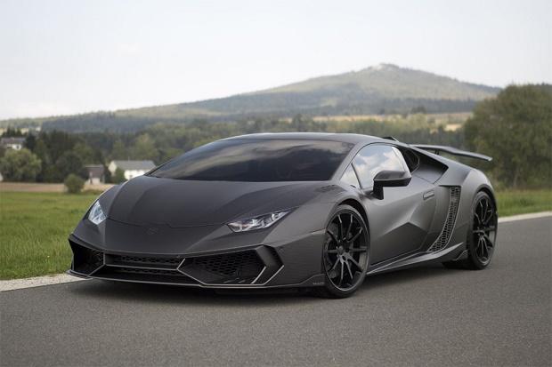 Ателье Mansory создало суперлёгкий и экстрамощный Lamborghini Huracan
