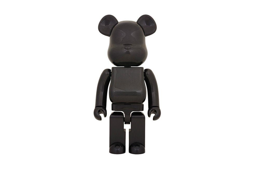 Фигурки Medicom Toy Dry Carbon 1000% Bearbrick