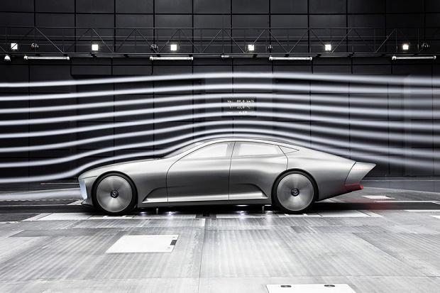 Футуристичный седан Concept IAA от Mercedes-Benz
