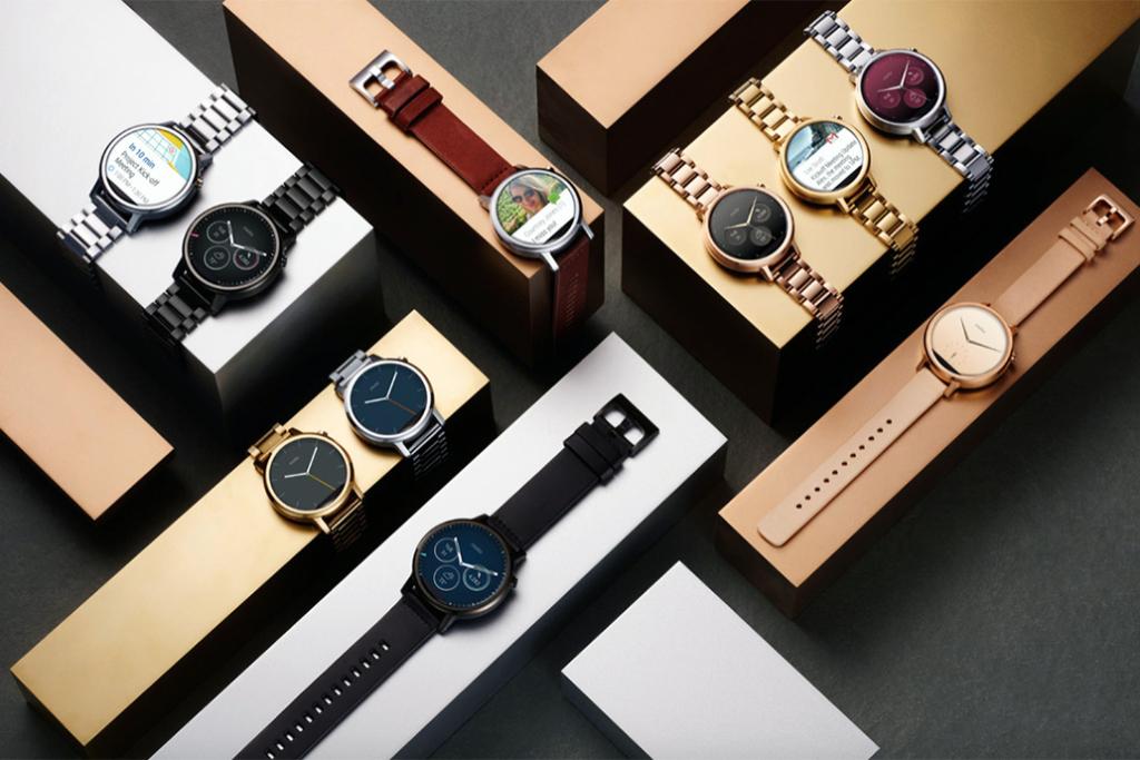 Motorola официально представила обновлённую линейку часов Moto 360