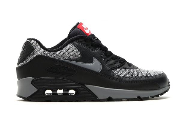 Кроссовки Nike Air Max 90 Essential Black/Cool Grey-Anthracite-University Red