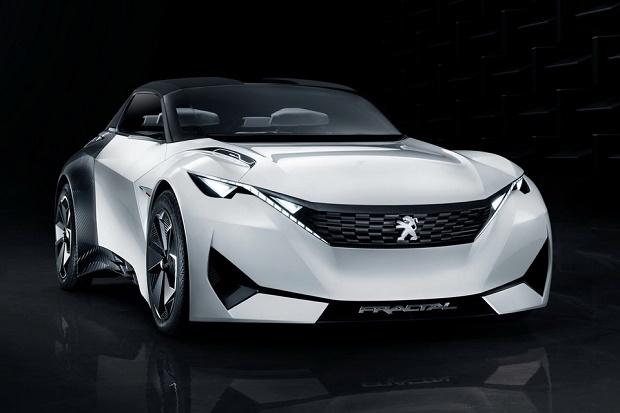 Новая фрактал концепция Peugeot хвастается убирающейся крышей