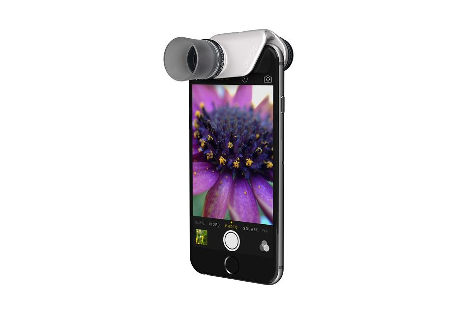 Новые линзы olloclip Macro Pro для iPhone 6