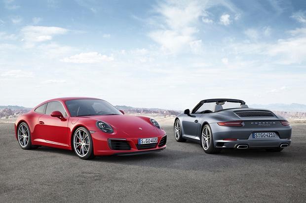 Porsche раскрыла обновленный 911 Carrera