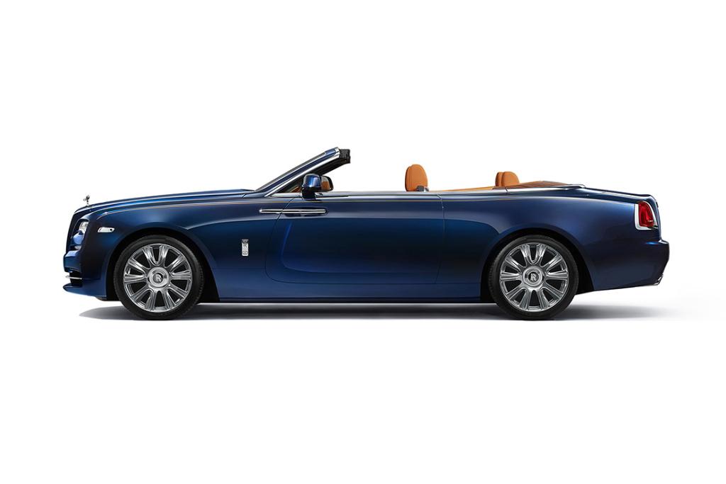 Rolls-Royce рассекретил кабриолет Dawn