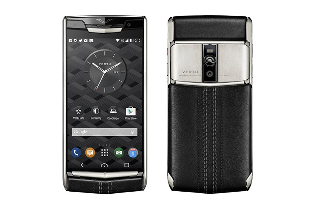 Vertu презентовала обновленную версию смартфона Signature Touch