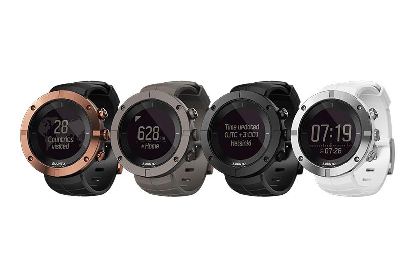 Часы Suunto Kailash с GPS для туризма и путешествий