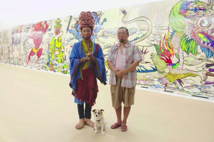 Фаррелл посетил студию Такаши Мураками
