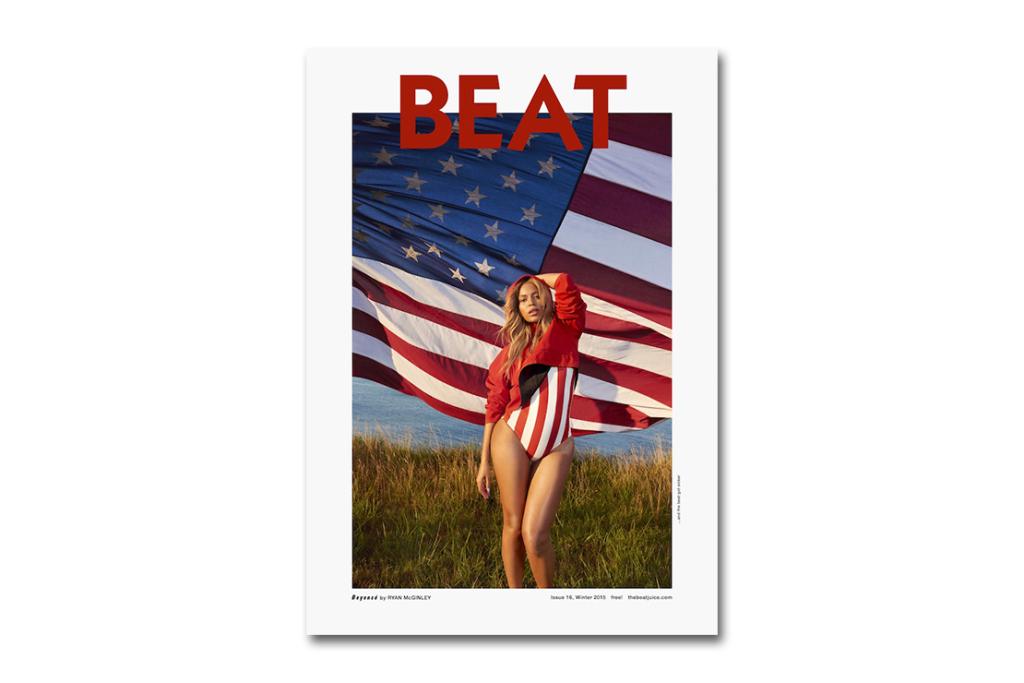 Фото Бейонсе от Райана МакГинли для BEAT Magazine