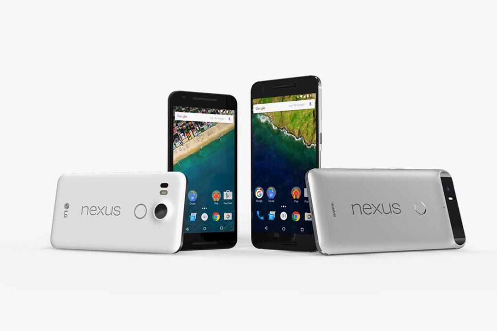 Google представила новые смартфоны Nexus 5X и Nexus 6P