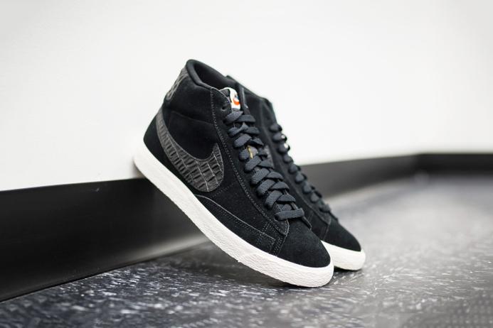 Кеды Nike Blazer Mid Black/Sail
