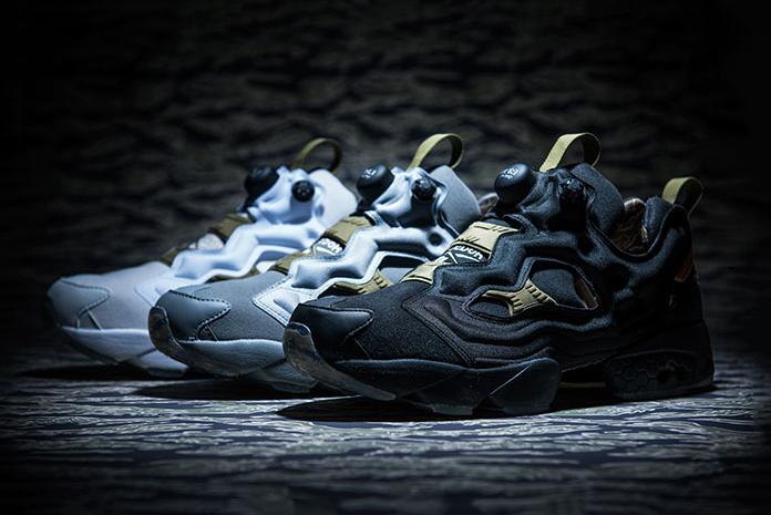 Коллекция кроссовок Reebok Instapump Fury OG SYN Tiger Camo