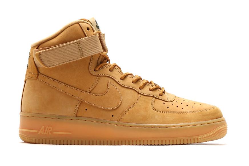 Кроссовки Nike Air Force 1 High Flax
