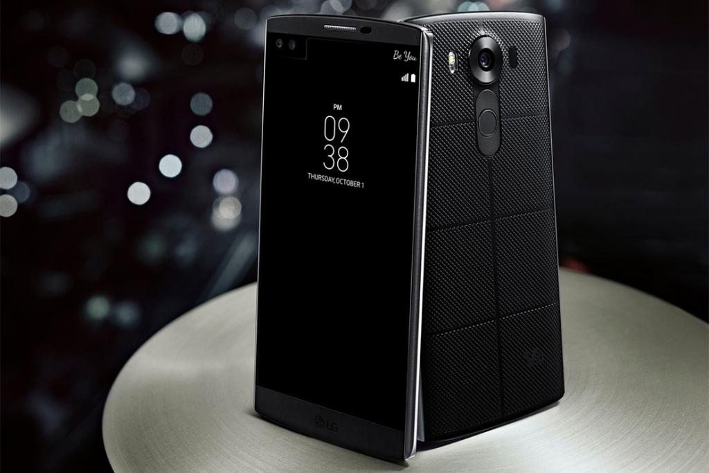 LG V10 оснастили двумя дисплеями и парой фронтальных камер