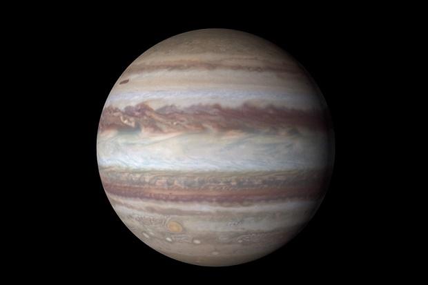 NASA показало Юпитер в разрешении 4К